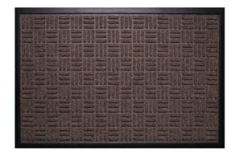 tapete waterkap marrom - 1,20m x 1,80m