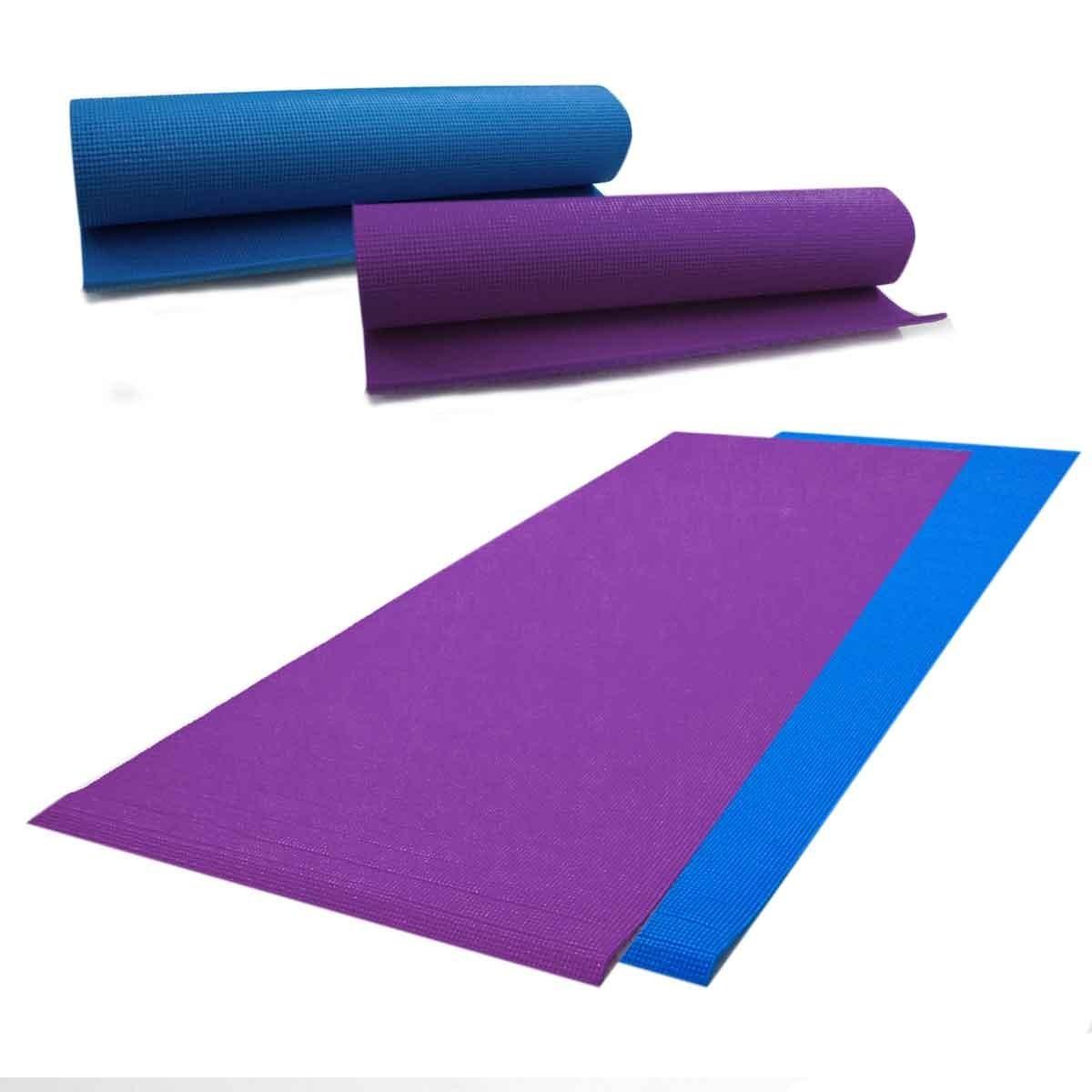 87b753efb Tapete Yoga Academia Fitness Colchonete Pvc 173x61cm - R  45
