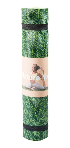tapete yoga pasto