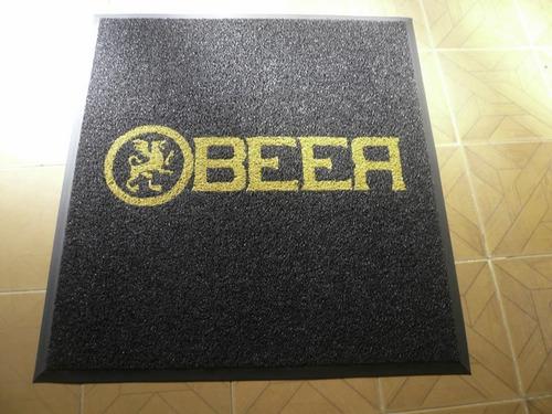 tapetes  alfombras atrapamugre publicitarios