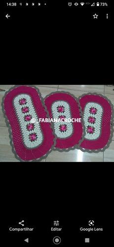 tapetes artesanais feito com amor