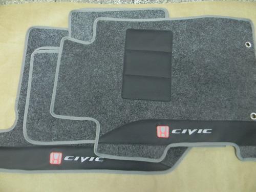 tapetes automotivos personalizados honda new civic