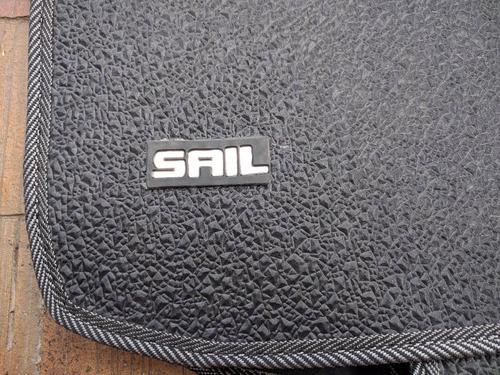 tapetes carro chevrolet sail sintético accesorios vehiculo