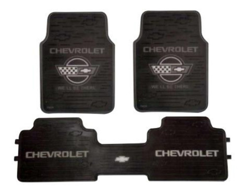 tapetes chevrolet 3 piezas universal sintetico envio gratis