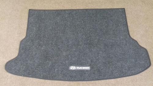 tapetes da tucson com porta malas, personalizado.