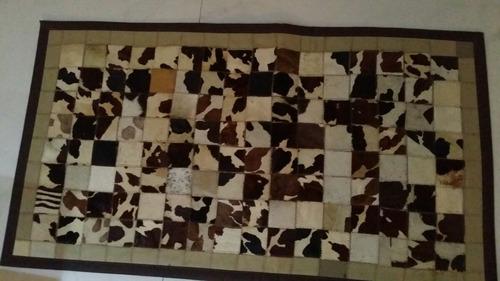tapetes de couro