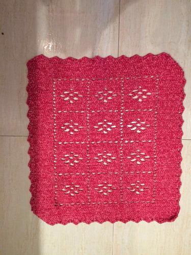 tapetes de crochê barato vários tamanhos