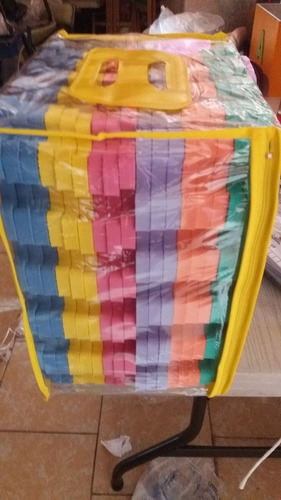 tapetes de foami de colores 30*30cm de 12mm  espesor 18 pzs