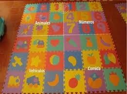 tapetes de foami, fomy, fomi para bebe, abecedario, numeros.