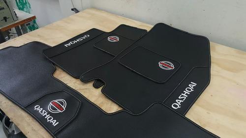 tapetes de lujo para automóvil. bordados personalizados
