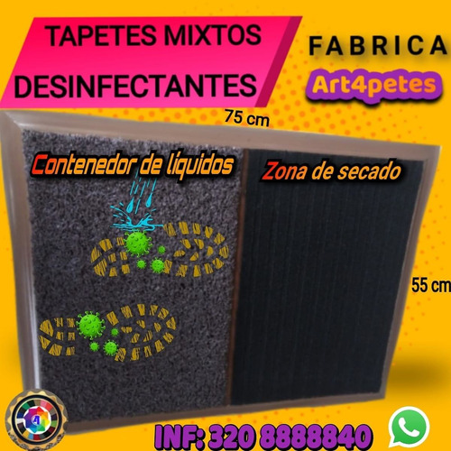 tapetes desinfectantes