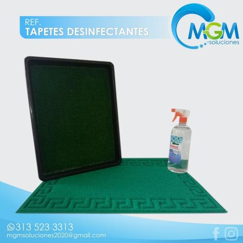 tapetes desinfectantes para hogar y empresas