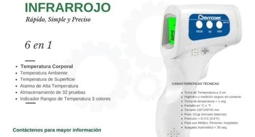 tapetes desinfectantes - termómetros digitales