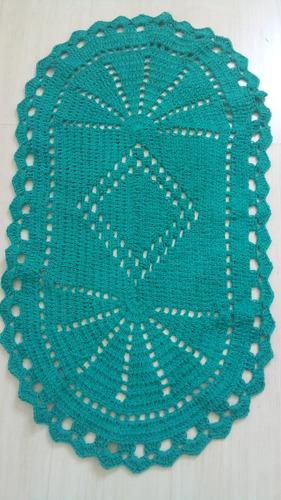 tapetes em crochê faço por encomenda