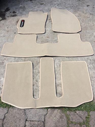 tapetes mazda 5 excelente calidad para 3 filas de asientos
