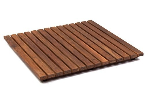 Tapetes para ba o madera 60x40cm duchas regaderas jacuzzi for Tarimas de madera para duchas