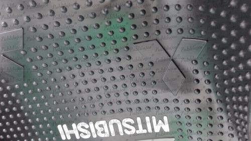 tapetes para mitsubishi 3p universales sintetic envio gratis