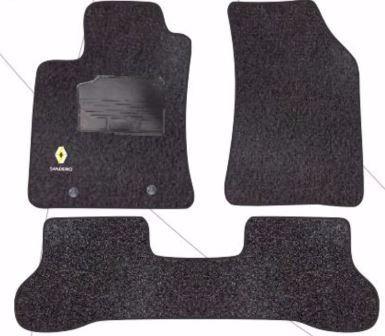 tapetes renault sandero 2008- 2013 alfombra 3p universales