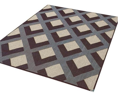 tapetes sala 3,00 x 2,00 sisal sem pelos base antiderrapante