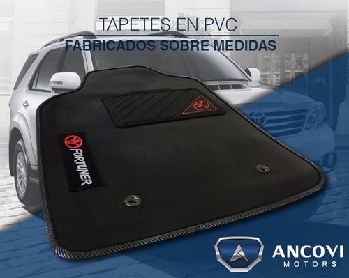 tapetes sobre medidas en pvc light personalizados para carro