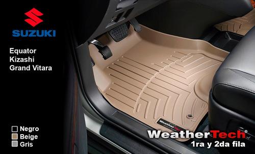 tapetes suzuki uso rudo 1a y 2da fila weathertech floorliner