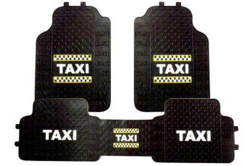 tapetes taxi 3p universales sintetico envio gratis a todo