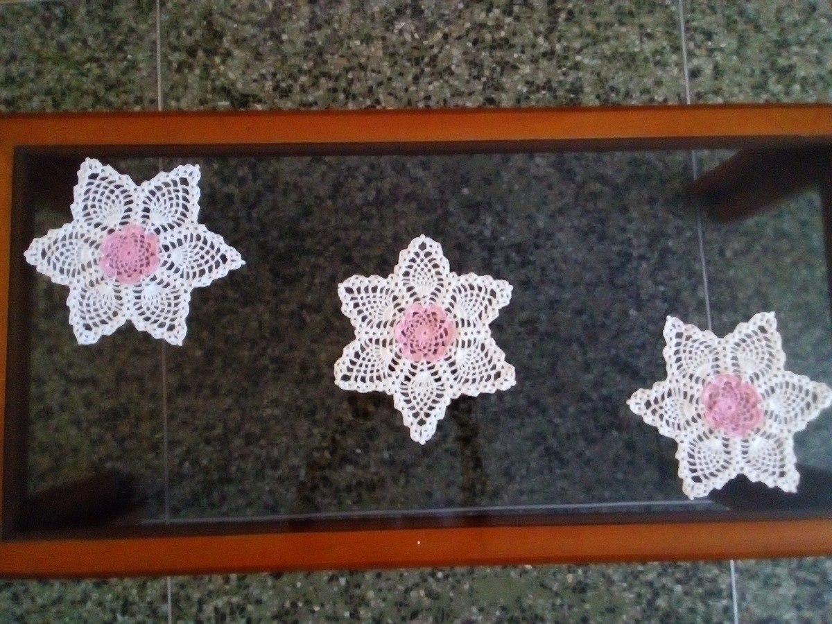 Tapetes Tejidos Hilo Crochet Tapetes De Sala Y Casa S 11 00 En