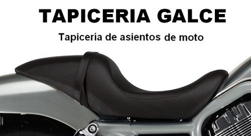 tapiceria de asientos de moto * tapizados * tapiceria galce*