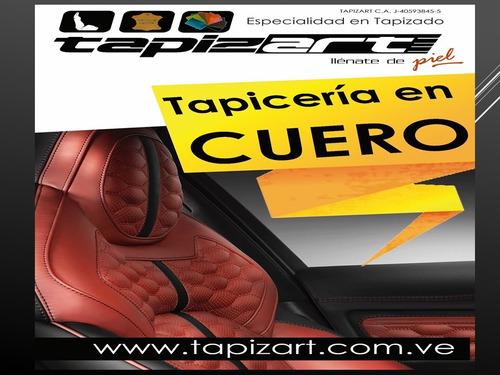 tapicería en cuero para toda clase de vehículos (tapizart)