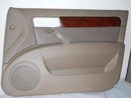 tapicería puerta delantera derecha optra nueva 2005-2007