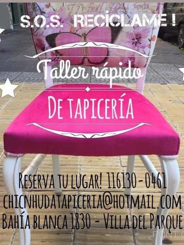 tapiceria reciclado restauracion fundas puff sillones sillas