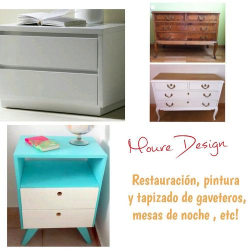 tapicería, restauración y pintura de muebles hogar y oficina