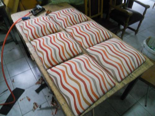 tapicero,carpintero,tapizado y encolado de sillas de madera!