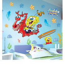 Bob Esponja Stickers Pared