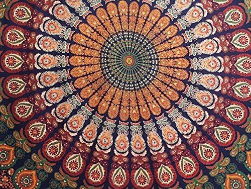 tapices,multimate pecock tapiz indias mandala tapices in..