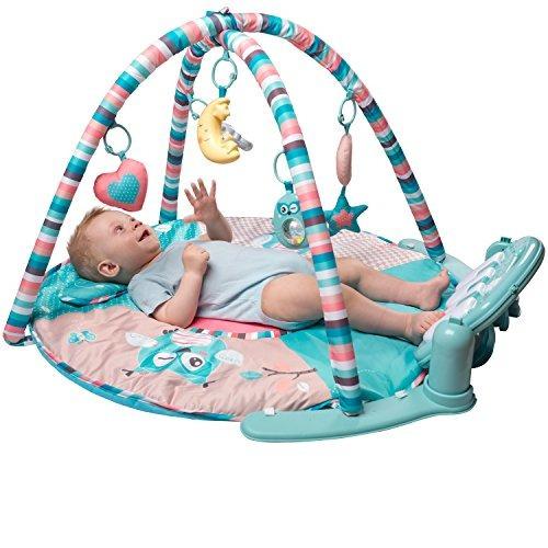tapiona large baby play mat gimnasio musical para bebe piano