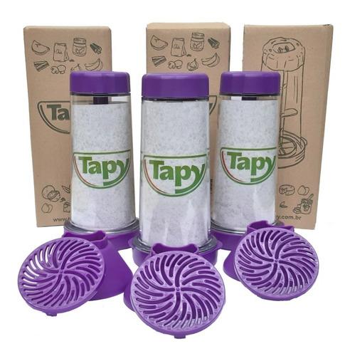 tapioqueira tapy roxa kit-3