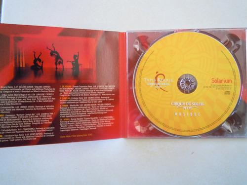 tapis rouge cd cirque du soleil solarium