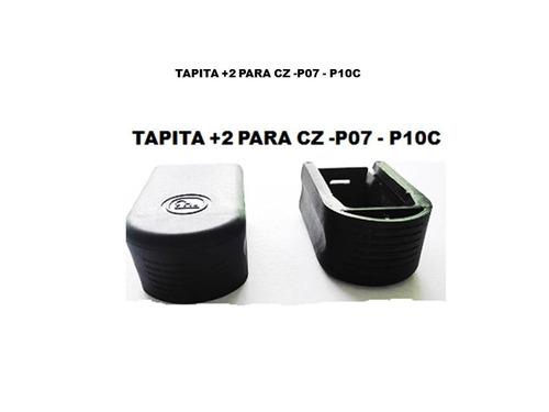 tapitas +2 para caserina de cz-p07 -  p10c
