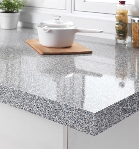 tapiz adherible granito cubierta vinil mesa barra muebles