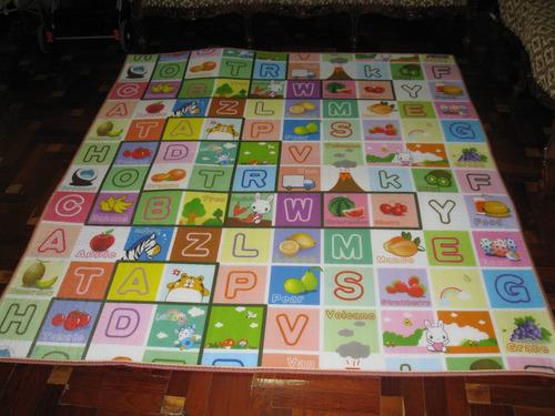 tapiz antigolpe para colocar sobre el piso para juego