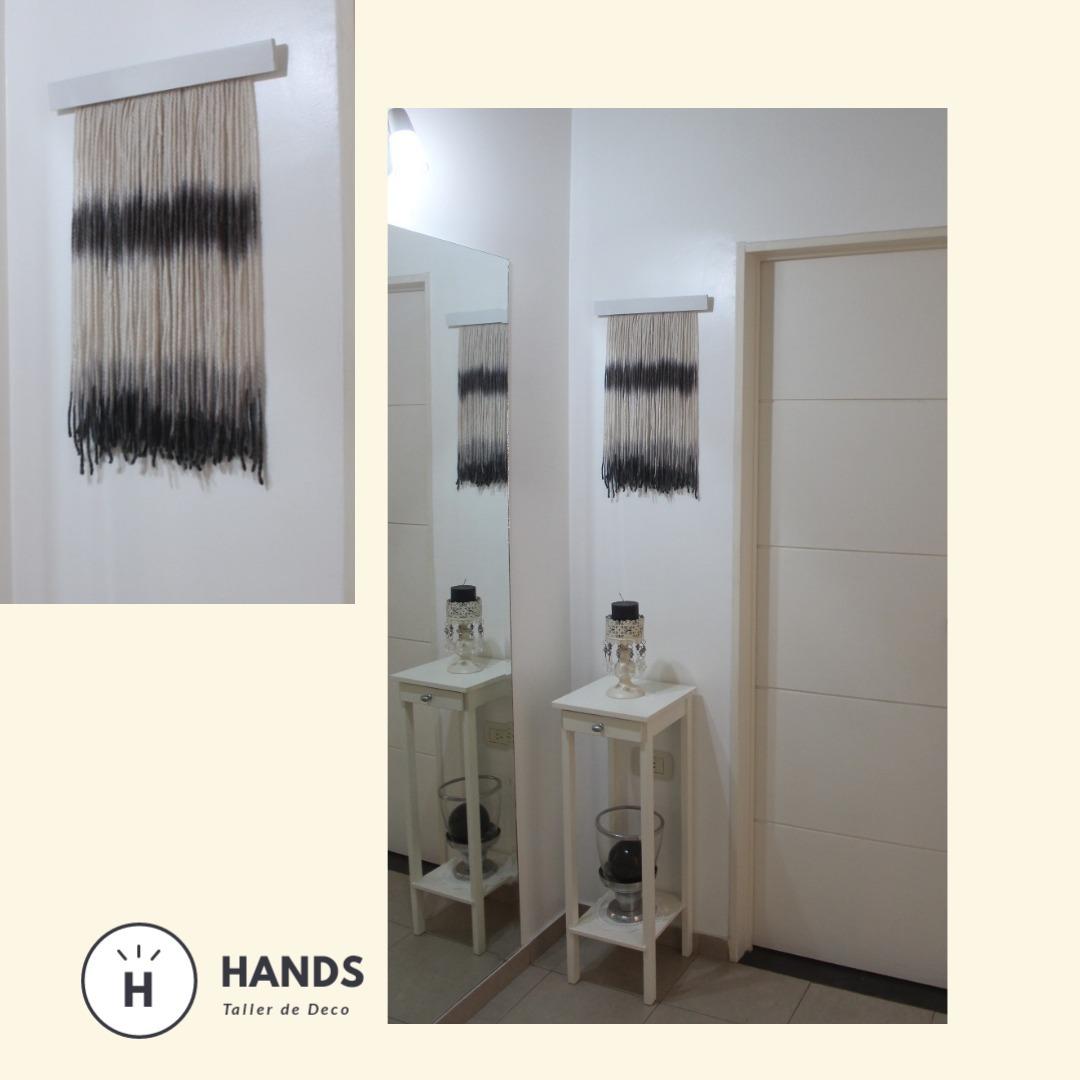 Tapiz Decorativo Lana Natural Hands 55 Cm