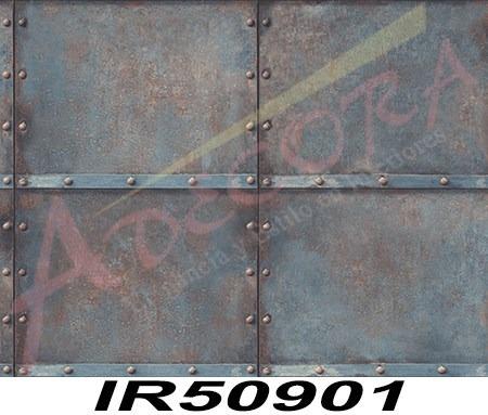 tapiz decorativo tipo acero y remaches importado lavable