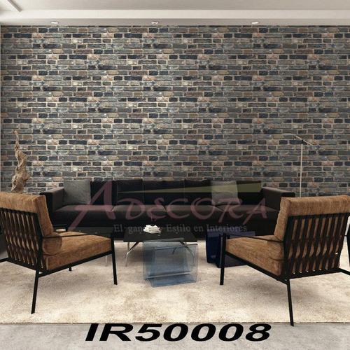 tapiz decorativo tipo ladrillo o texturas 100% lavable 5m2