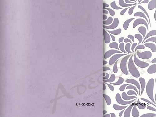 tapiz decorativo uptown textura brillo relieve 100% lavable