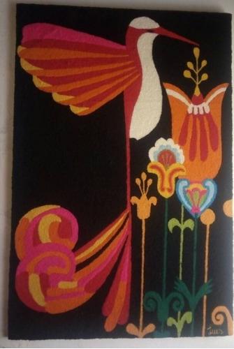 tapiz guajiro de luis montiel