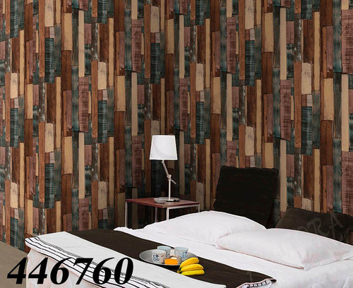 tapiz importado decorativo tipo madera con textura, lavable