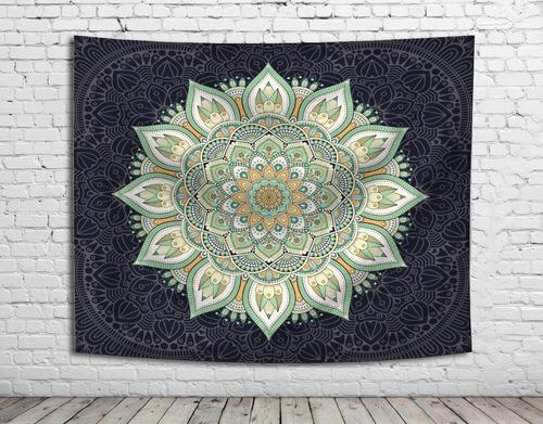 tapiz manta lona mandala ganesh unicos! 1,50x1,30 -1,45x1,45