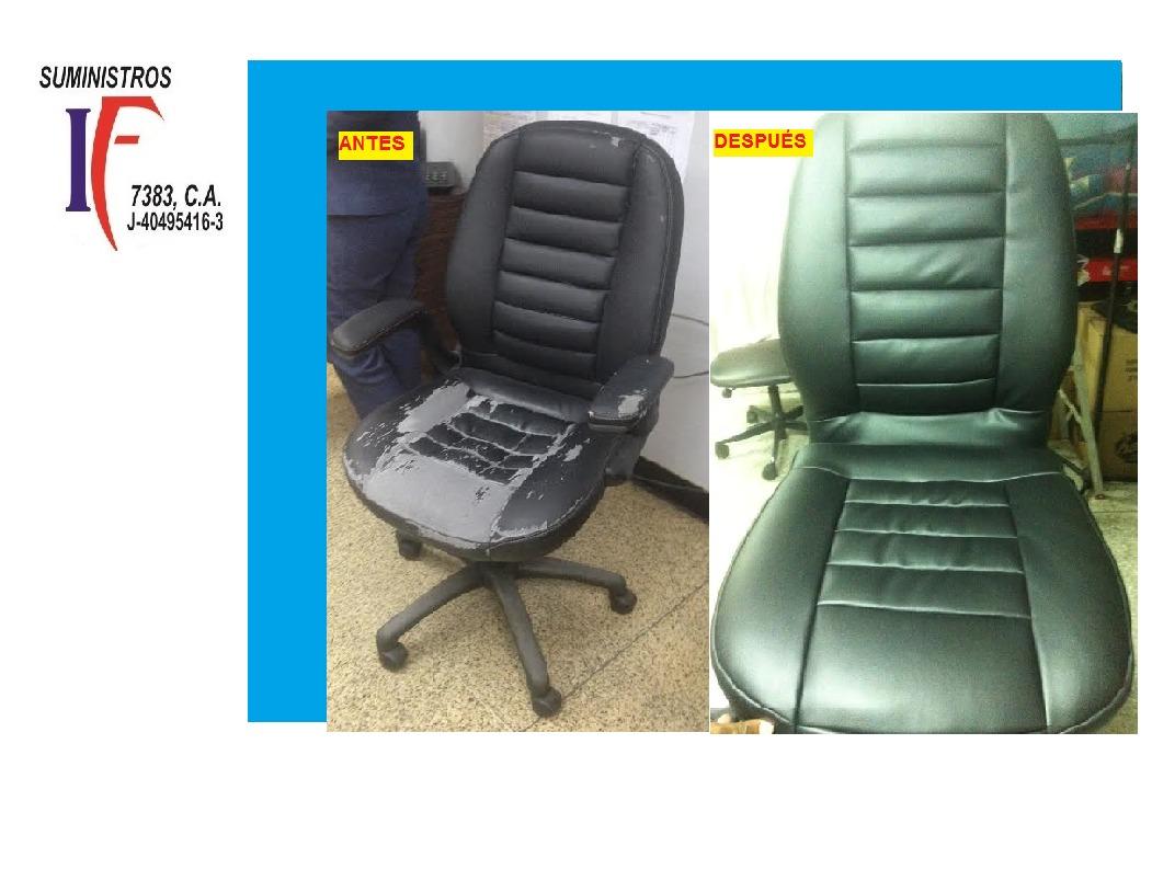 Tapizado de sillas de oficina sofas etc en mercado libre - Tapizado de sillas precio ...