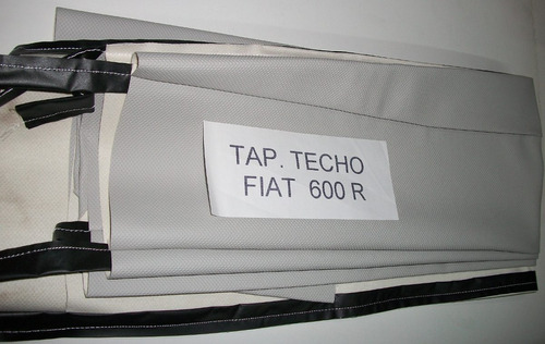 tapizado de techo interior fiat 600 r y s  - en lidecar